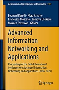 Advanced Information Networking and Applications: Proceedings of the 34th International Conference on Advanced Information Networking and Applications-cover