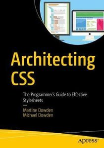 Architecting CSS: The Programmer's Guide to Effective Stylesheets-cover