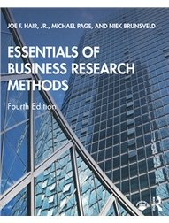 Essentials of Business Research Methods, 4/e-cover