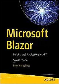 Microsoft Blazor: Building Web Applications in .Net-cover