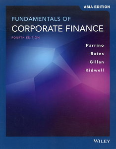 Fundamentals of Corporate Finance, 4/e (AE-Paperback)-cover