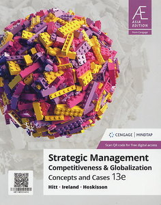Strategic Management:Competitiveness & Globalization Concepts & Cases, 13/e (AE-Paperback)(內含Access Code,經刮除不受退)-cover