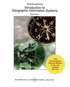 Introduction to Geographic Information Systems, 8/e (Paperback)-cover