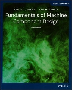 Fundamentals of Machine Component Design, 7/e (AE-Paperback)-cover
