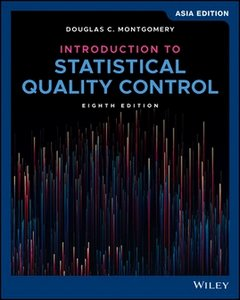 Introduction to Statistical Quality Control, 8/e (AE-Paperback)-cover