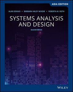 Systems Analysis and Design, 7/e (AE-Paperback)-cover