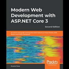 Modern Web Development with ASP.NET Core 3 - Second Edition-cover