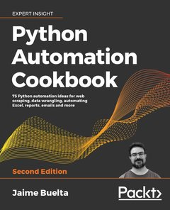 Python Automation Cookbook - Second Edition-cover