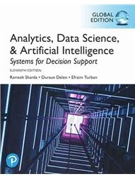 Analytics, Data Science, & Artificial Intelligence: Systems for Decision Support, 11/e (IE-Paperback)-cover