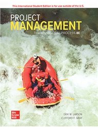 Project Management: The Managerial Process, 8/e (IE-Paperback)-cover