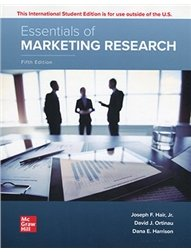Essentials of Marketing Research, 5/e (IE-Paperback)-cover