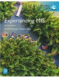 Experiencing MIS, 8/e (GE-Paperback)-cover