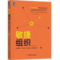 敏捷組織:如何建立一個創新、可持續、柔性的組織(原書*2版)-cover