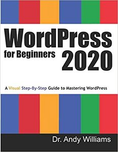WordPress for Beginners 2020: A Visual Step-by-Step Guide to Mastering WordPress-cover