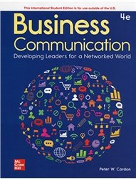 Business Communication: Developing Leaders for a Networked World, 4/e (IE-Paperback)-cover