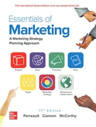 Essentials of Marketing: A Marketing Strategy Planning Approach, 17/e (IE-Paperback)-cover