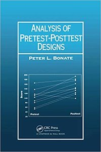 Analysis of Pretest-Posttest Designs-cover