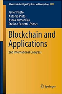 Blockchain and Applications: 2nd International Congress-cover