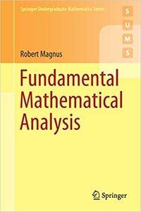 Fundamental Mathematical Analysis-cover