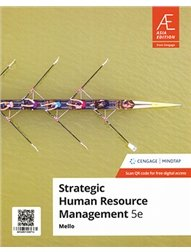 Strategic Human Resource Management with MindTap, 5/e (AE-Paperback)-cover