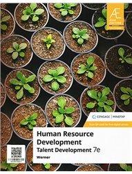 Human Resource Development: Talent Development with MindTap, 7/e (AE-Paperback)