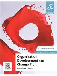 Organization Development and Change with MindTap, 11/e (AE-Paperback)-cover