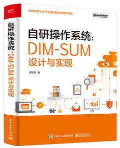自研操作系統:DIM-SUM設計與實現