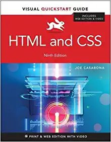 HTML and CSS: Visual QuickStart Guide, 9/e (Paperback)-cover
