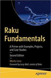 Raku Fundamentals: A Primer with Examples, Projects, and Case Studies-cover