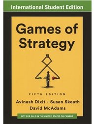 Games of Strategy, 5/e (IE-Paperback)-cover