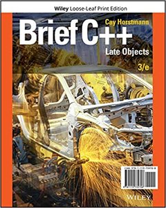 Brief C++: Late Objects 3rd Edition-cover