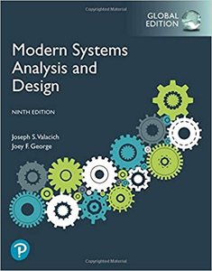 Modern Systems Analysis and Design, 9/e (GE-Paperback)-cover