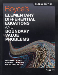 Boyce`s Elementary Differential Equations and Boundary Value Problems (Paperback)-cover