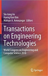 Transactions on Engineering Technologies: World Congress on Engineering and Computer Science 2018-cover