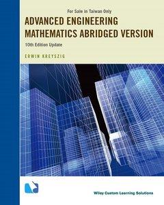 Advanced Engineering Mathematics, 10/e (Update)(Abridged Version) (Taiwan Custom Version)(Paperback)-cover