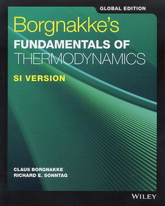 Borgnakke`s Fundamentals of Thermodynamics SI (Paperback)-cover