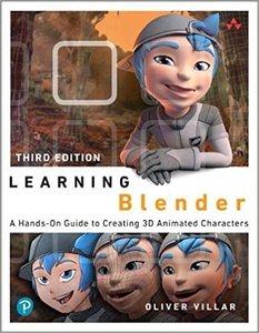 Learning Blender, 2/e-cover