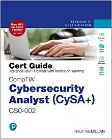CompTIA Cybersecurity Analyst (CySA+) CS0-002 Cert Guide (Certification Guide) 2nd Edition-cover
