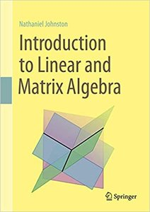 Introduction to Linear and Matrix Algebra-cover