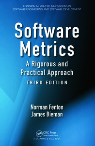 Software Metrics: A Rigorous and Practical Approach, Third Edition-cover
