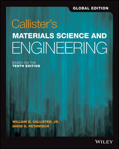 Callister's Materials Science and Engineering, 10/e (IE-Paperback)-cover
