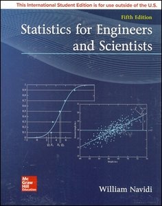 Statistics for Engineers and Scientists, 5/e (IE-Paperback)-cover