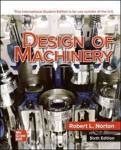 Design of Machinery, 6/e (IE-Paperback)-cover