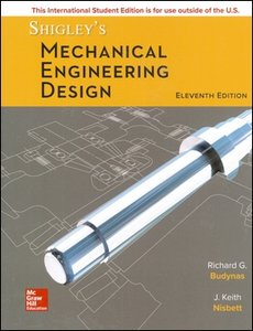Shigley's Mechanical Engineering Design, 11/e (IE-Paperback)-cover