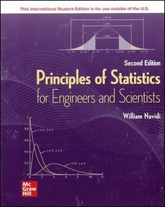 Principles of Statistics for Engineers and Scientists, 2/e (IE-Paperback)