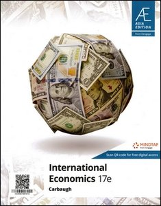 International Economics, 17/e (IE-Paperback)-cover