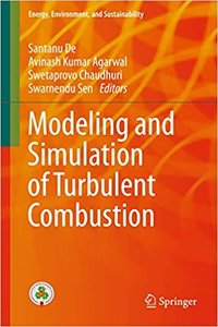 Modeling and Simulation of Turbulent Combustion-cover