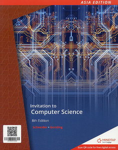 Invitation to Computer Science, 8/e (AE-Paperback)【內含Access Code,經刮除不受退】-cover
