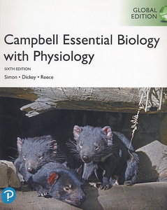 Campbell Essential Biology: with Physiology, 6/e (IE-Paperback)-cover