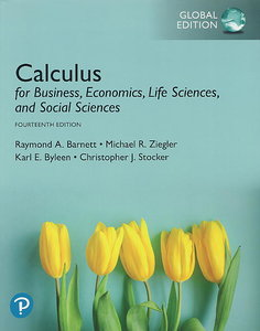 Calculus for Business, Economics, Life Sciences, and Social Sciences, 14/e (IE-Paperback)-cover